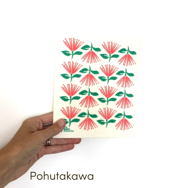 Spruce Dishcloth - Pohutakawa