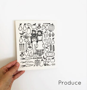 Spruce Dish Cloth - Produce
