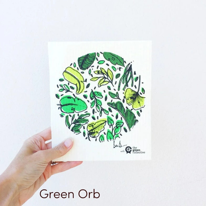 Spruce Dish Cloth - Green Orb
