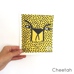 Spruce Dish Cloth - Cheetah