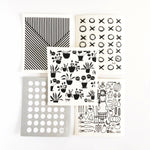 Spruce Dish Cloths - Set of 5 - Monochrome