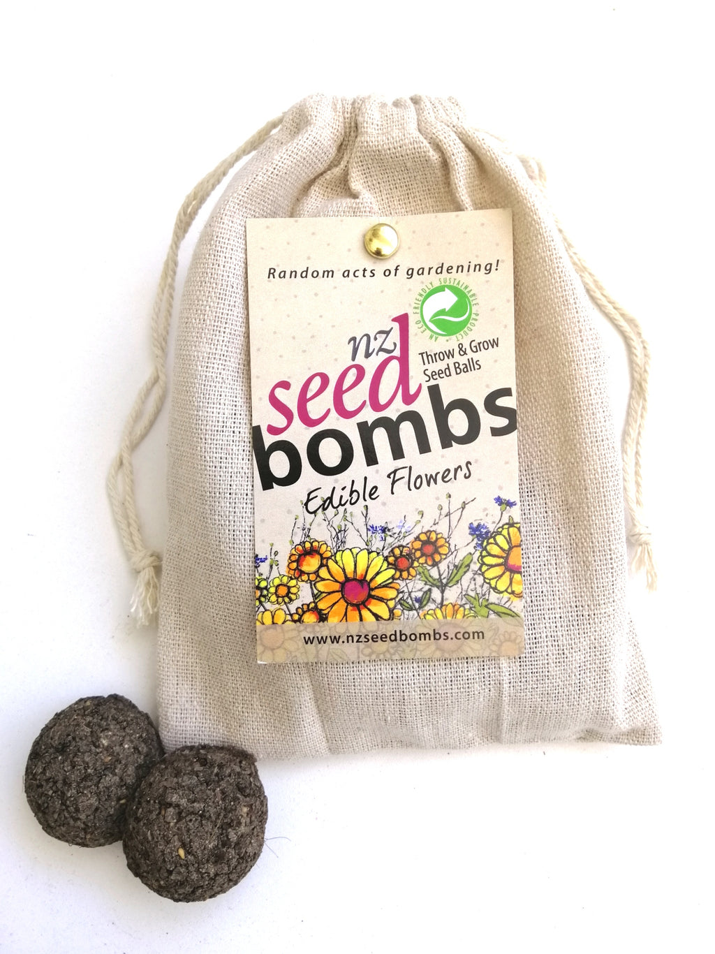 Seed Bombs - Edible Flowers