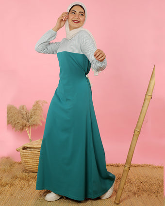 سبورت دريس فيروزي/ Sport Dress Turquoise