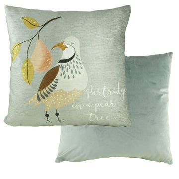 A Partridge 12 Days Cushion