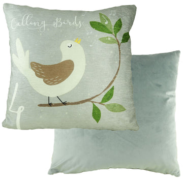 4 Calling Birds 12 Days Cushion