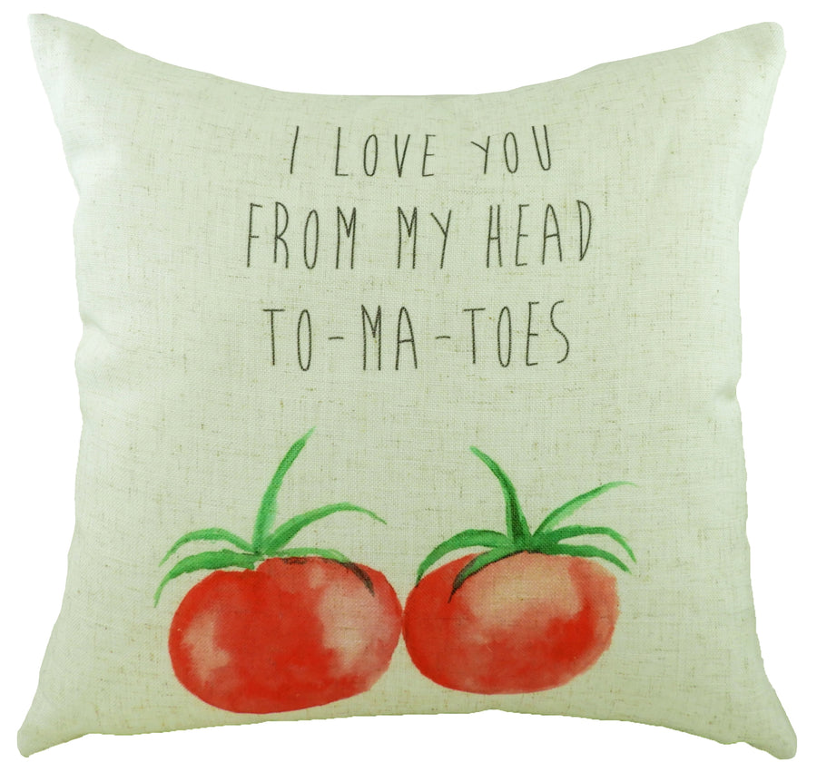 5 A Day To-ma-toes Cushion