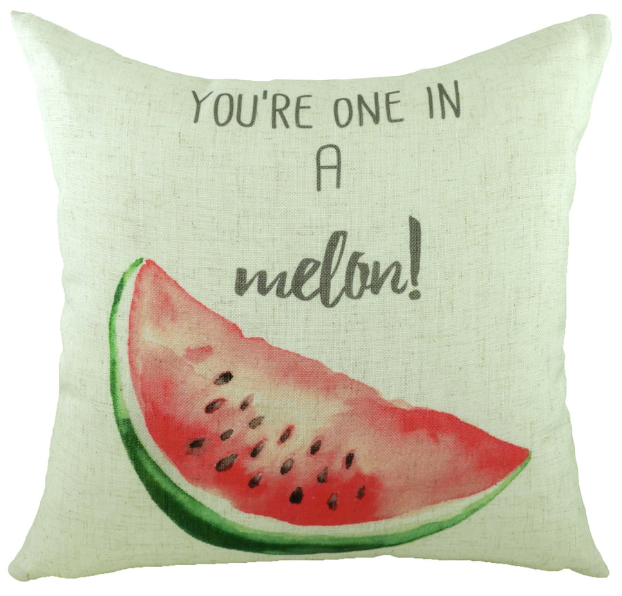 5 A Day Once in a Melon Cushion