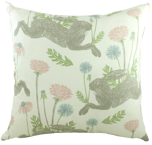 March Hare Pink Cushion