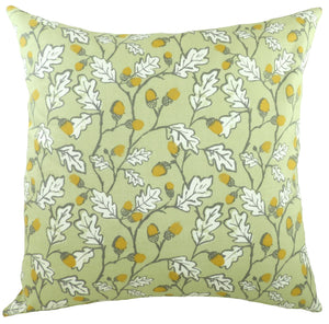 Acorns Sage Cushion