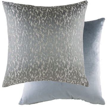 Andesite Mercury/Velvet Dark Grey Cushion