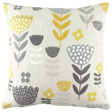Annika Tulip Ochre Cushion