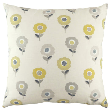 Annika Daisy Ochre Cushion