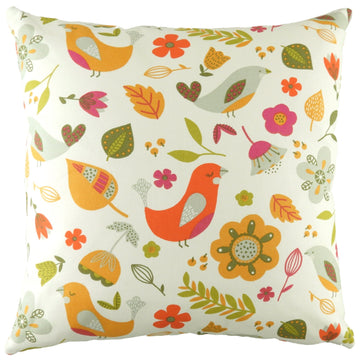 Annika Birds Tutti Frutti Cushion