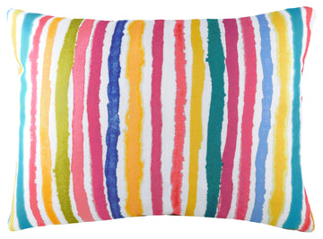 Aquarelle Stripe Cushion