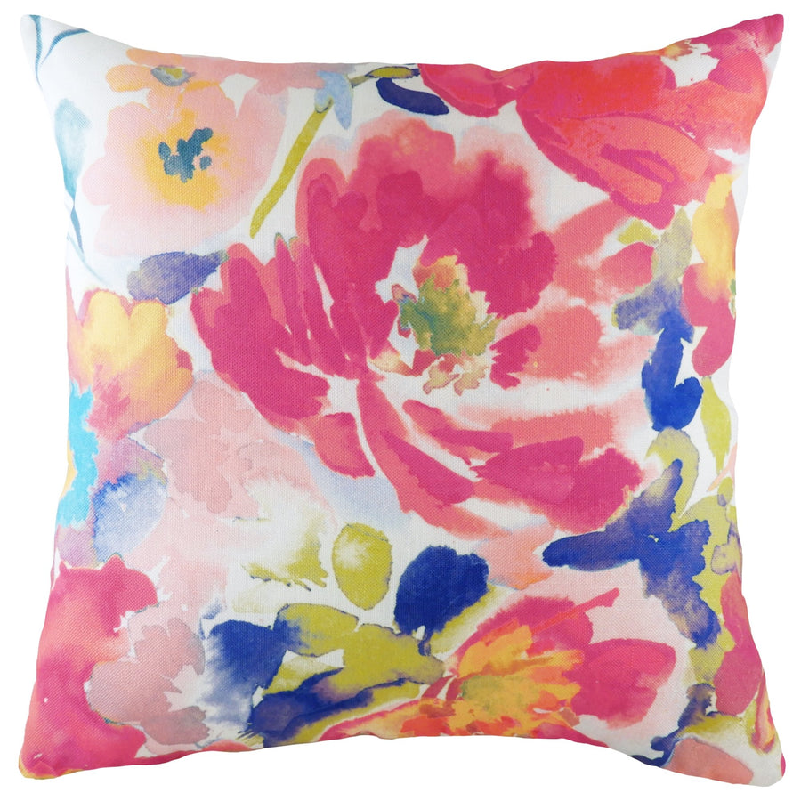 Aquarelle Floral Cushion