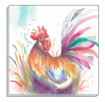 Artistic Animals Cockerel Canvas Wall Art