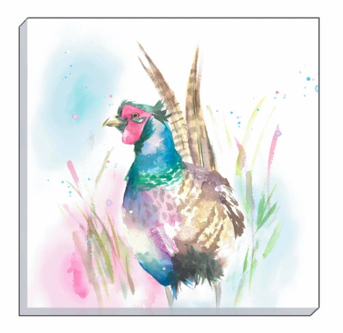 Artistic Animals Pheasant Canvas Wall Art
