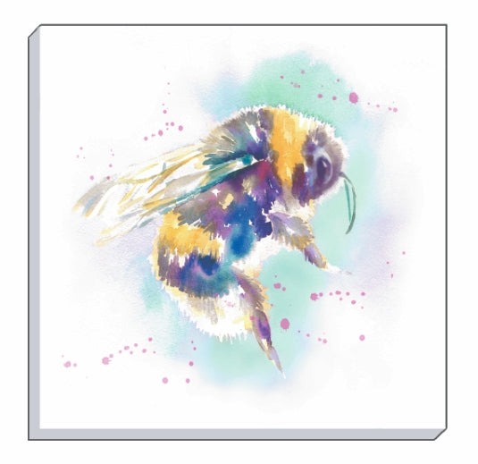 Artistic Animals Bee Canvas Wall Art