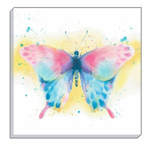 Artistic Animals Butterfly Canvas Wall Art