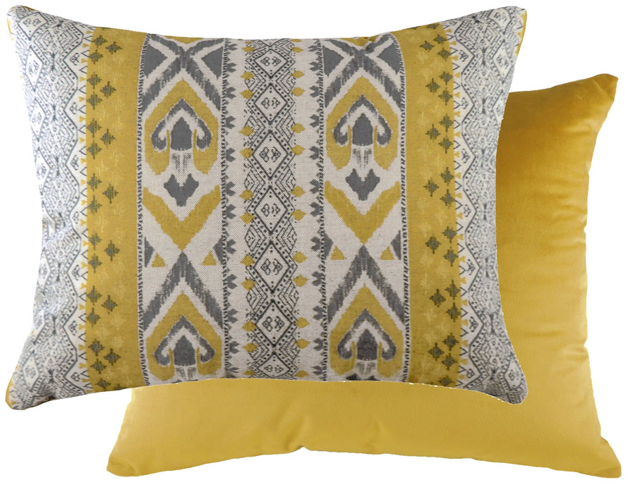 Aztec Ochre Cushion