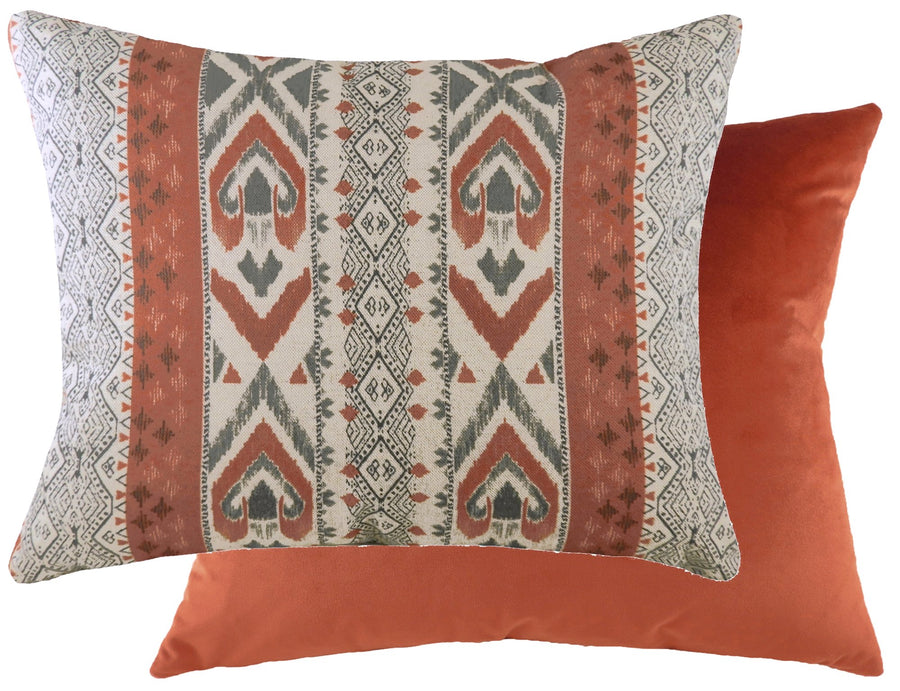 Aztec Terracotta Cushion