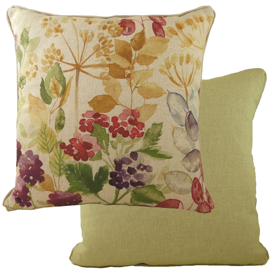 Botanics Hedgerow Piped Cushion