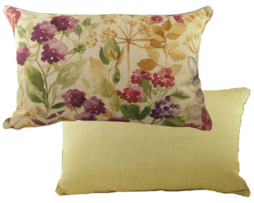 Botanics Hedgerow Oblong Piped Cushion