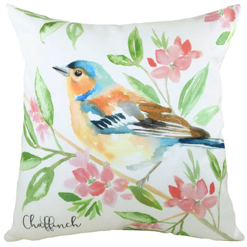 British Birds Chaffinch Cushion