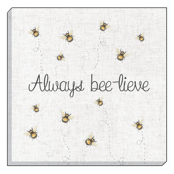 Bee-Lieve Canvas