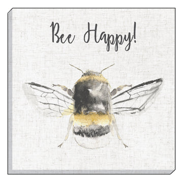 Bee Happy Canvas
