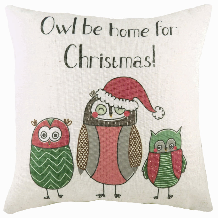 Owl Be Home Cushion