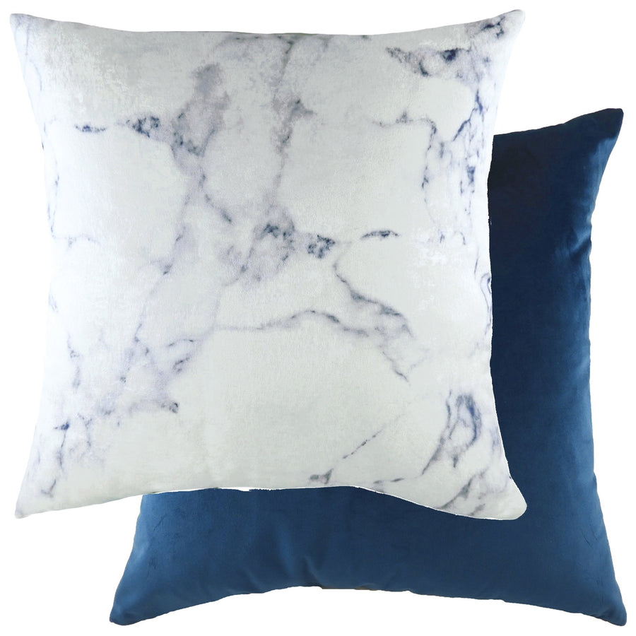 Cinnabar Ink/Velvet Royal Cushion