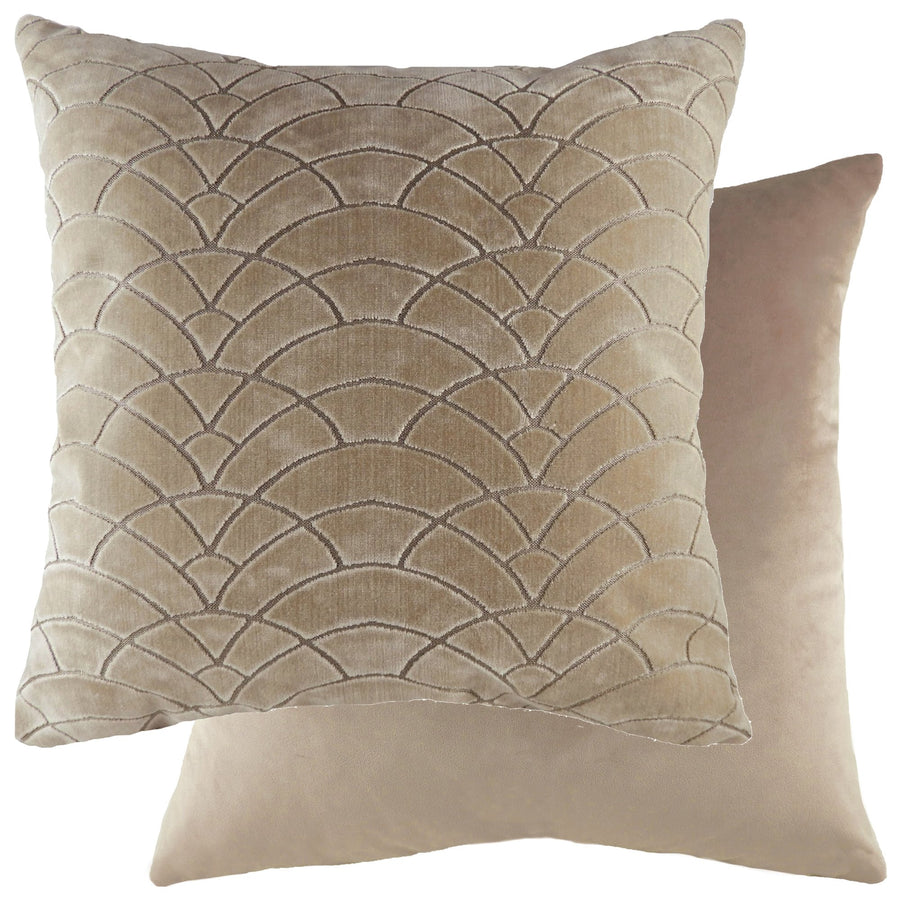Dinaric Gold/Velvet Mocha Cushion
