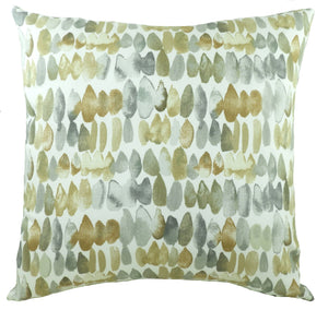 Eclectic Dash Ochre Cushion