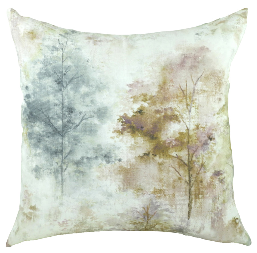 Eclectic Woodland Violet Cushion