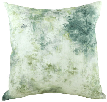 Eclectic Woodland Lagoon Cushion