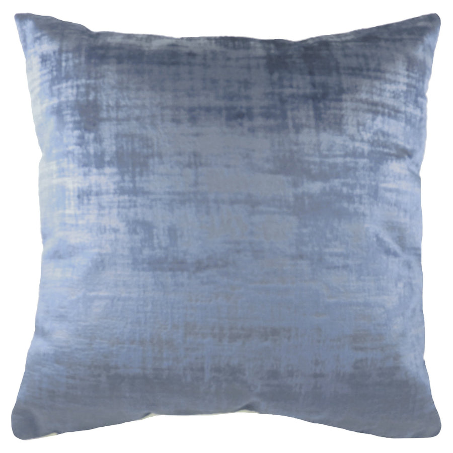 Ettrick Plain Indigo Cushion