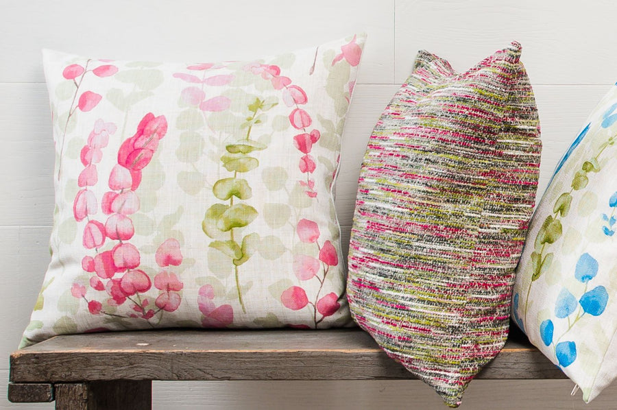 Flourish Magenta Cushion