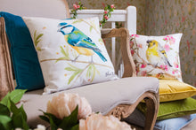 British Birds Blue Tit Cushion