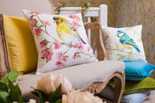 British Birds Siskin Cushion