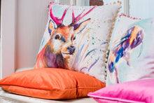 Artistic Animals Stag Bobble Trim Cushion