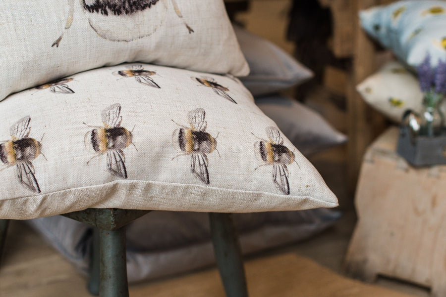 Bee Happy Repeat Cushion