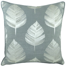 Fawsley Bowood Grey Piped Cushion