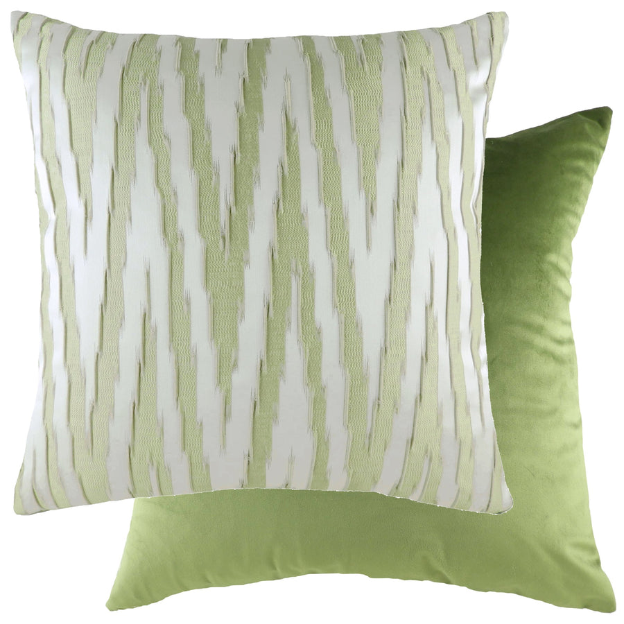 Fenix Fern/Velvet Olive Cushion