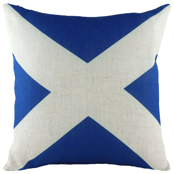 Printed Flag Scotland Cushion