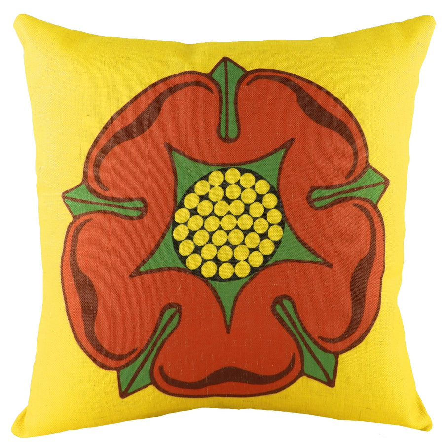 Printed Flag Lancashire Cushion
