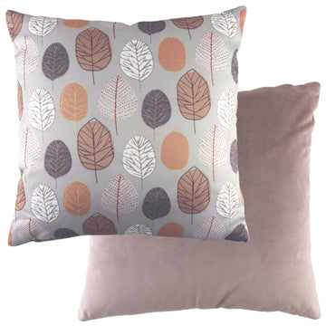 Flourish Leaf Dusky Pink Cushion
