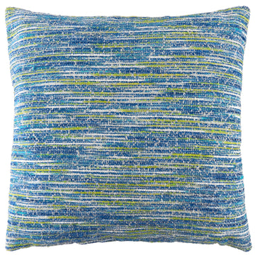 Flourish Blue Cushion