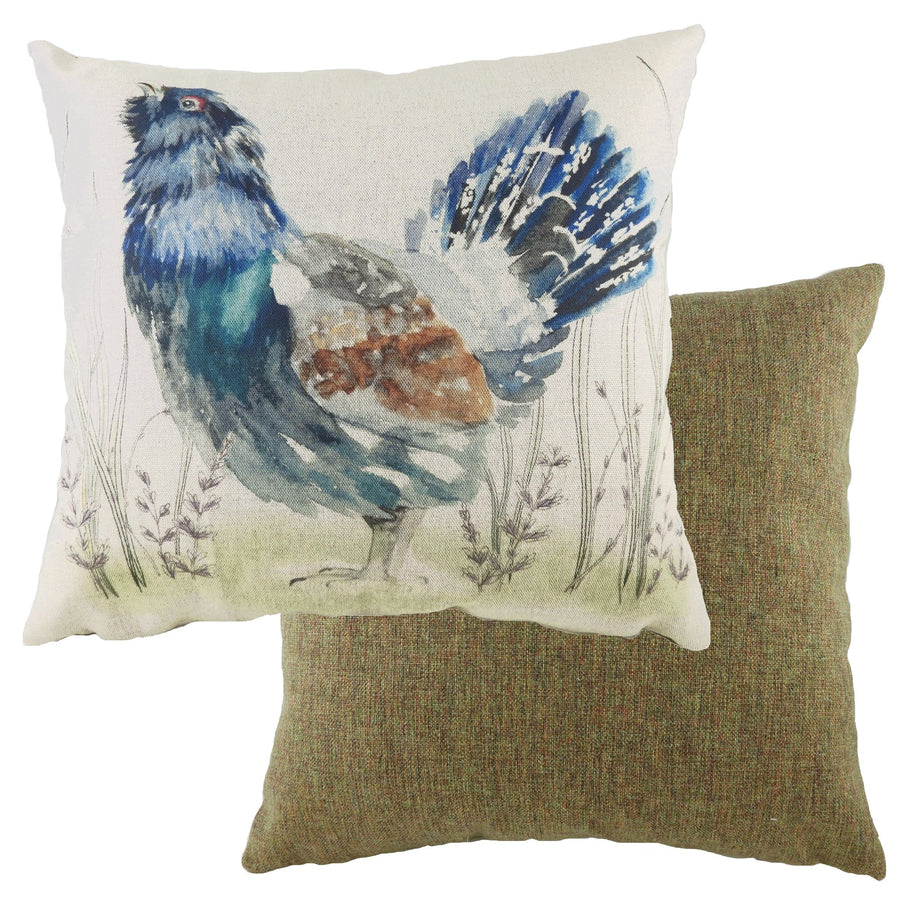 Game Birds Capercaillie Cushion
