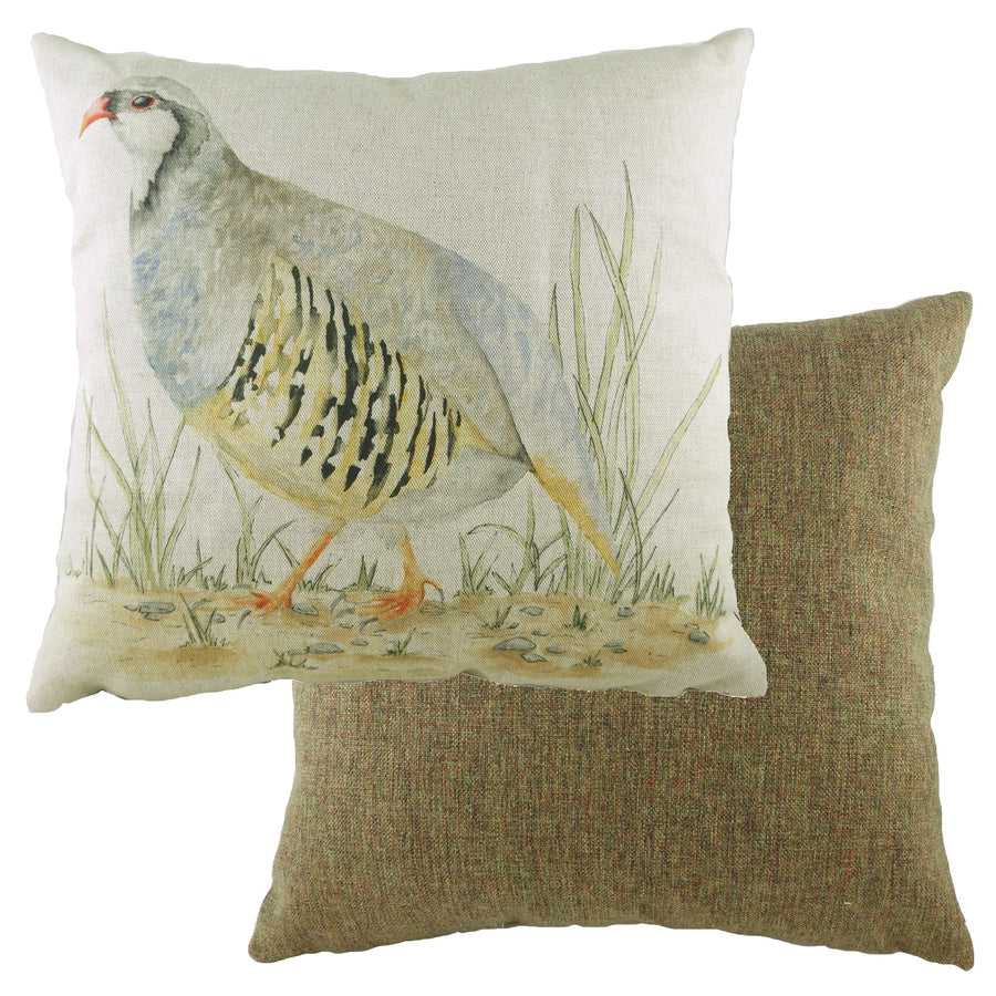 Game Birds Partridge Cushion